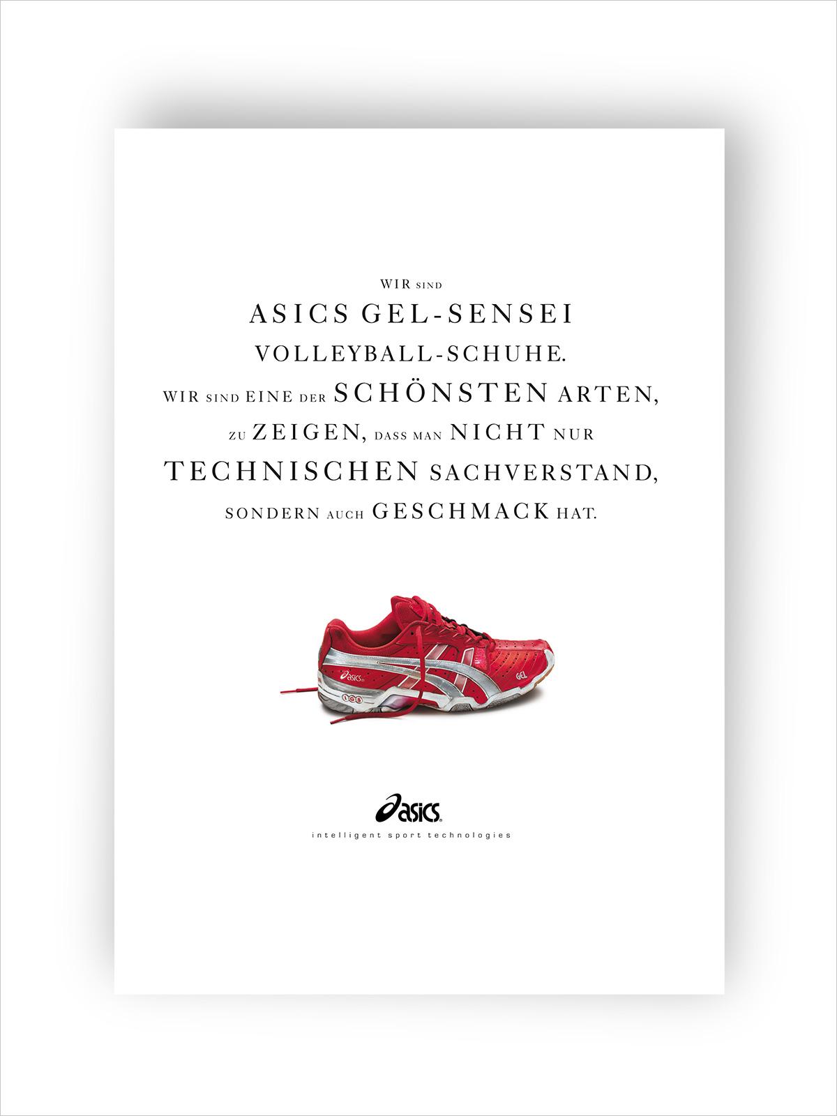 ASICS Anzeige Vanameland