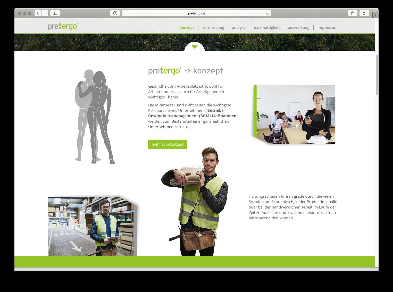 pretergo Homepage Vanameland