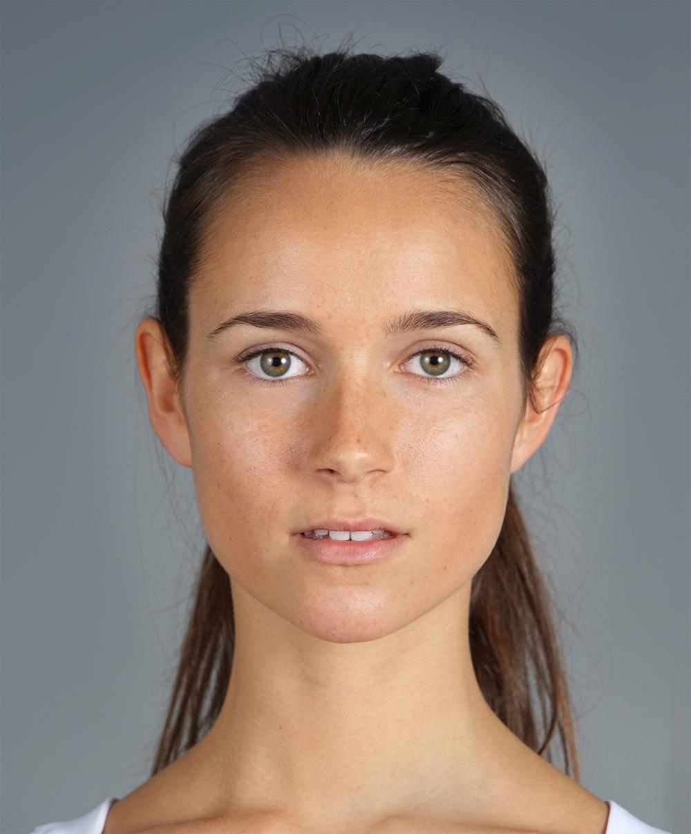 Sedcard Portrait vanameland